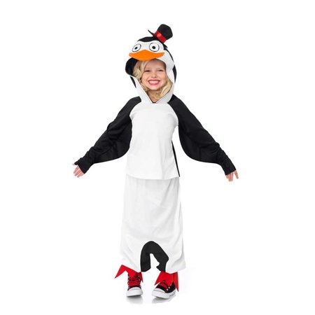 Leg Avenue Madagascar Skipper The Penguin Child Halloween Costume, Size M