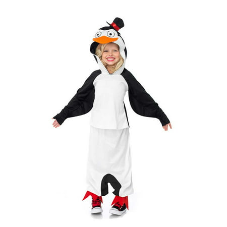 Leg Avenue Madagascar Skipper The Penguin Child Halloween Costume, Size - Madagascar Costumes