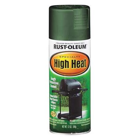 Rust-Oleum High Heat Coating, Green 7752830