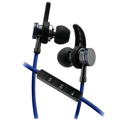 Sentry Deluxe Bluetooth Earbuds with Microphone  Blue - image 1 of 1