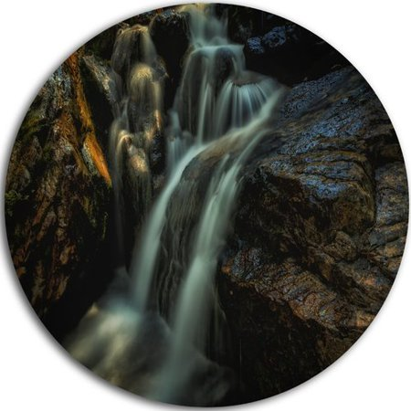 Design Art 'Slow Motion Waterfall in Summer' Photographic Print on