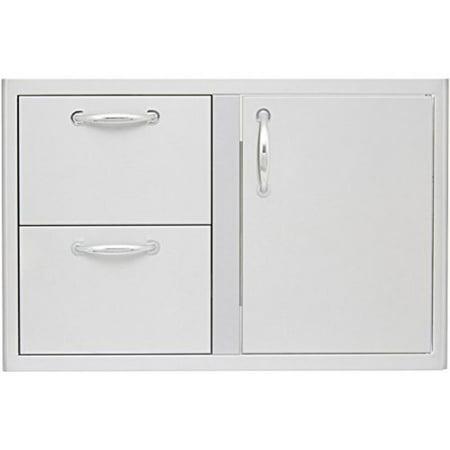 - Blaze 32-inch Access Door & Double Drawer Combo