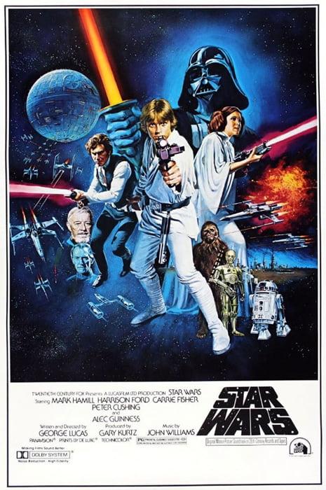 Star Wars Episode Iv A New Hope Movie Poster Print Regular Style C Size 27 X 40 Walmart Com Walmart Com