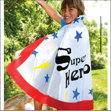 Super Hero Cape Kit Pk/12 (Superhero Arts And Crafts)