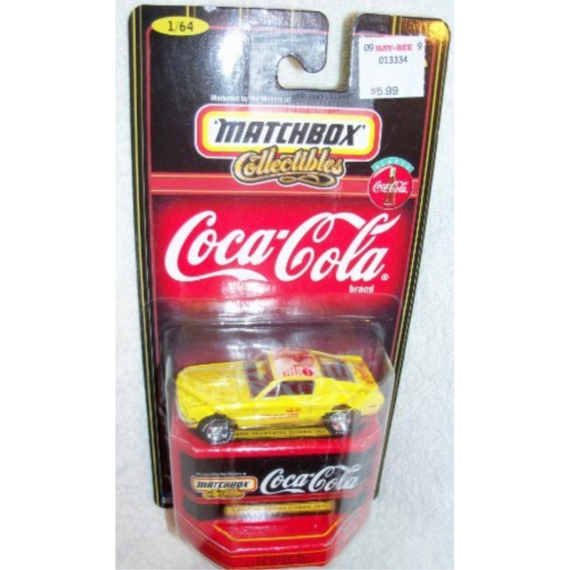 Matchbox Collectibles Coca-Cola 1968 Mustang Cobra Jet 1:64 Scale by