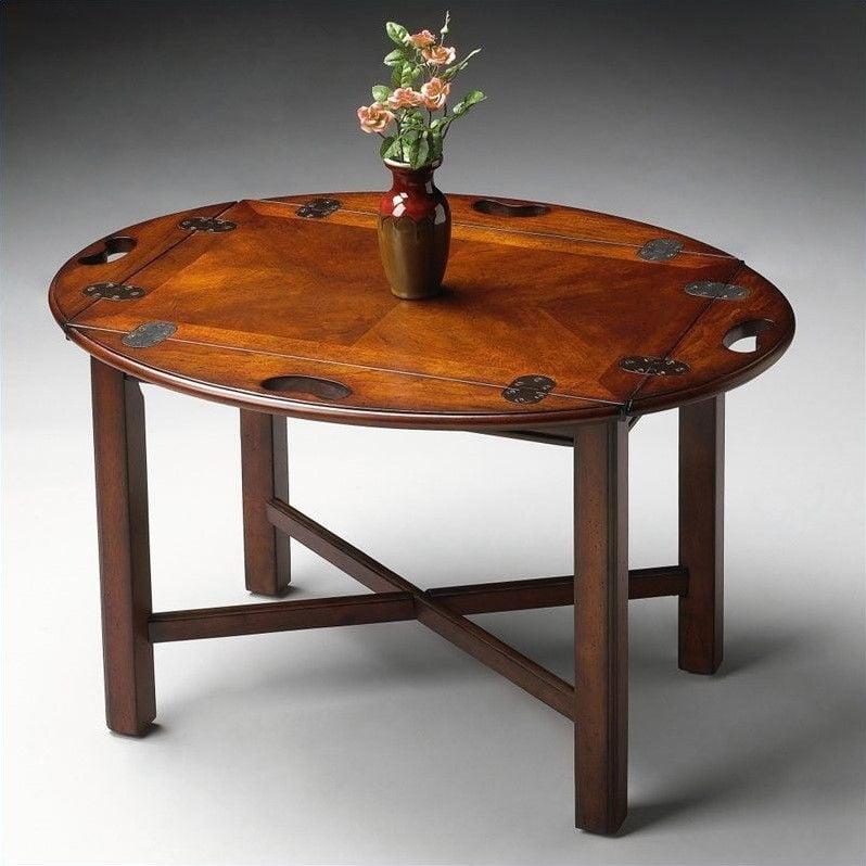 Butler Specialty Butler Table in Plantation Cherry Finish - image 2 de 2