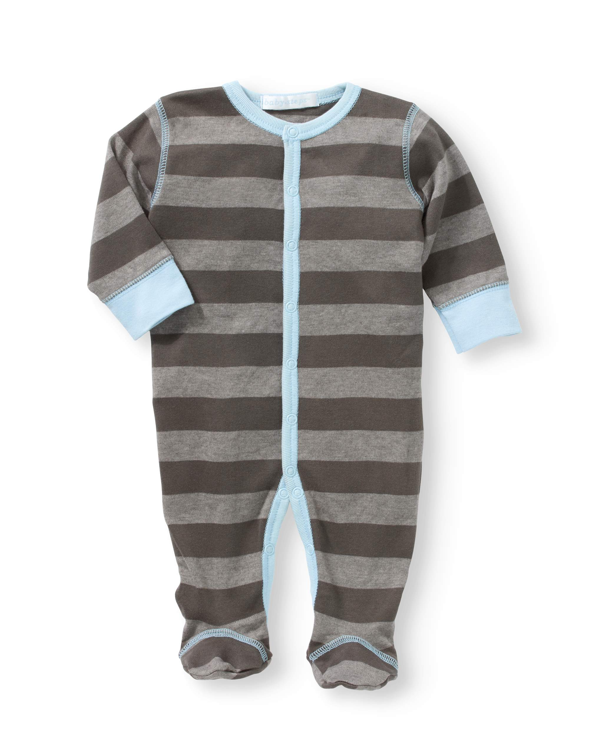 Newborn Baby Boy Footie Coverall Pajama