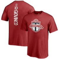 Sebastian Giovinco Toronto FC Fanatics Branded Youth MLS Backer T-Shirt - Red