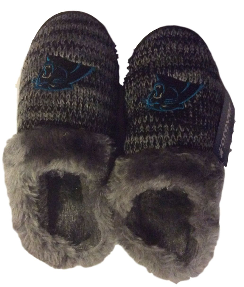 Carolina Panthers Womens Peak Slide Slippers by FC