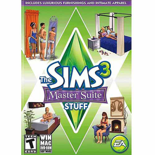 Electronic Arts Sims 3: Master Suite Expansion Pack (Digital Code)