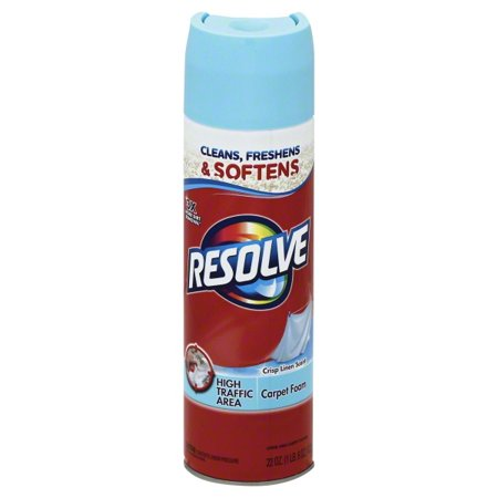 Resolve High Traffic Carpet Cleaner Foam 22 Ounce Walmartcom