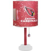NFL Die-Cut Canvas Table Lamp with Shade, Choose Your Team