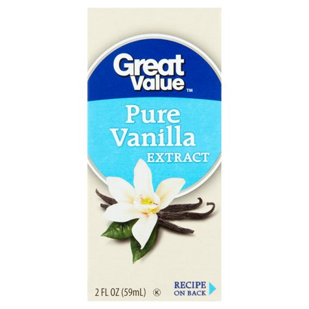 Great Value Pure Vanilla Extract  2 Fl Oz