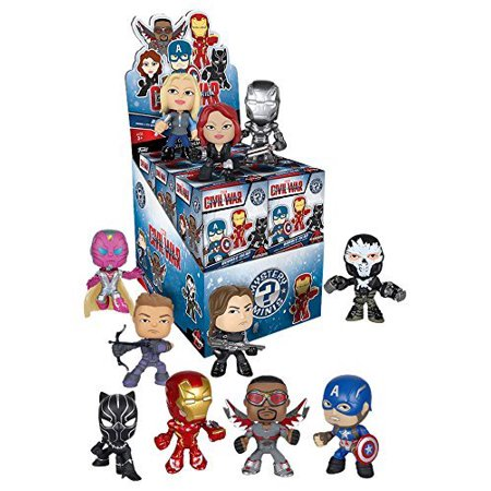 Captain America 3: Mystery Mini Toy Figures (4 Pack), Captain America Civil War Mystery Mini 4-Pack By Civil - Civil War Dresses For Sale Cheap