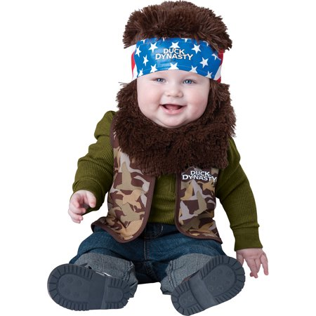 Infant Duck Dynasty Willie Baby Costume by Incharacter Costumes LLC 101601 - Duck Baby Costume