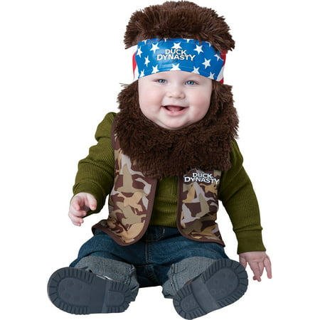 Duck Costume Adults (Infant Duck Dynasty Willie Baby Costume by Incharacter Costumes LLC)