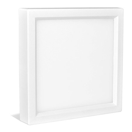 Ceiling Mount Bathroom Light (Luxrite 4 Inch Square LED Flush Mount Ceiling Light, 10W, White Finish, 3000K (Soft White), 600 Lumens, Dimmable, Surface Mount LED Ceiling Light, Wet Rated, Energy Star - Kitchen and Bathroom )