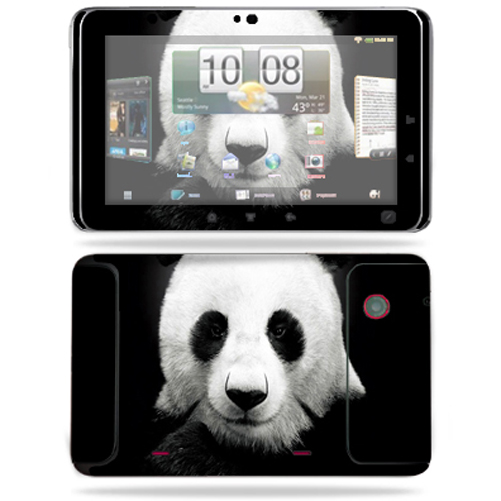Mightyskins Protective Vinyl Skin Decal Cover for HTC EVO View 4G Android Tablet wrap sticker skins Panda