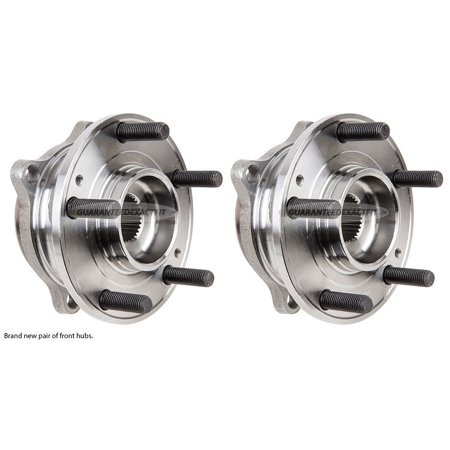 Pair New Front Left   Right Wheel Hub Bearing Assembly For Hyundai And Kia
