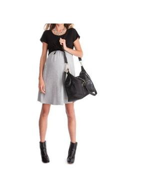 bb54a88b2ab76 Product Image Maternity Pregnant Women Short Sleeve Breastfeeding Dress  Nursing Clothes Wear Multi-color S