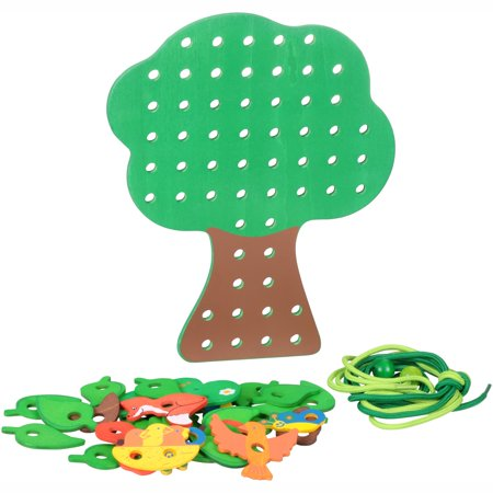 Hape Leafy Lacing Tree Smart Games](Dollar Tree Halloween Game)