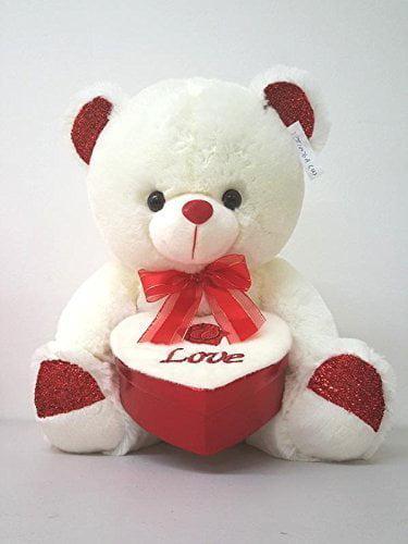 """15/"""" CUTE VALENTINE DAY STUFFED TEDDY BEAR  GIFT PLUSH SWEET I LOVE YOU"""