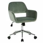 FurnitureR Swivel Task Chair Height Adjustable Office Chair With Arms,Multiple Colors
