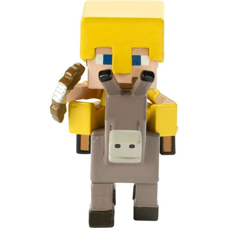 Minecraft Deluxe Mini Figure Steve On Donkey (Character Mini Figure)