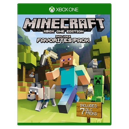Microsoft Minecraft: Xbox One Edition Favorites Pack Action adventure Game Xbox One... by Microsoft