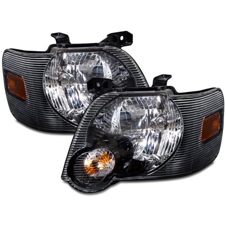 2008-2010 Ford Explorer Sport Trac/2007-2010 Explorer Halogen Headlights Pair FO2502230 & FO2503230