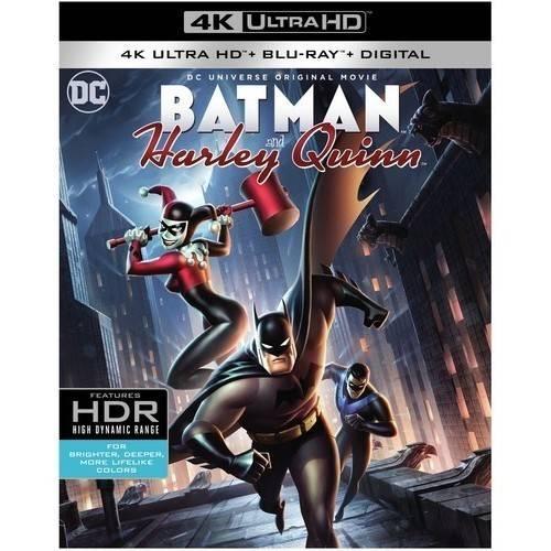 Batman and Harley Quinn (4K Ultra HD + Blu-ray) by
