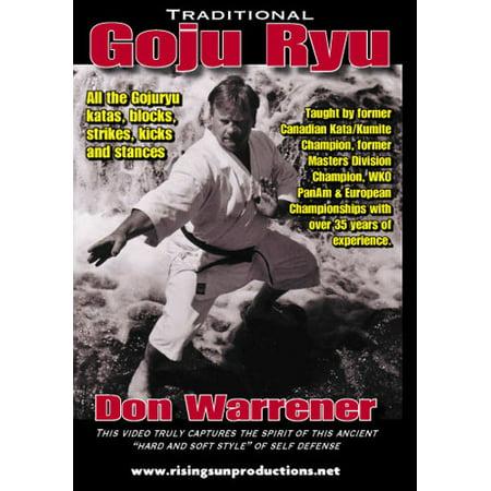 Traditional Goju Ryu Karate DVD (Karate Goju Ryu)
