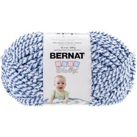 Knitting Warehouse Free Shipping : Baby Blanket Twists Big Ball Yarn-Blue Twist - Walmart.com