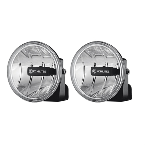 "KC Hilites 4"" Gravity LED Fog Light - Pair (SAE/ECE) 493"