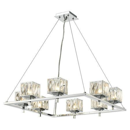 golden lighting 1035 8 neeva 8 light 1 tier chandelier with clear