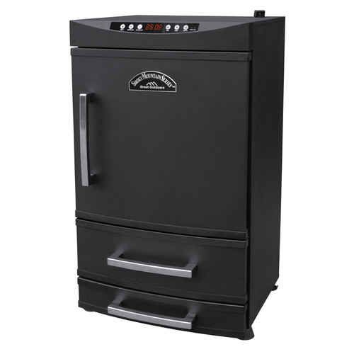 "Landmann 32"" Smoky Mountain Vertical Electric Smoker with 2 Drawers"