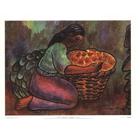 DIEGO RIVERA Flower Vendor (With Text) 20
