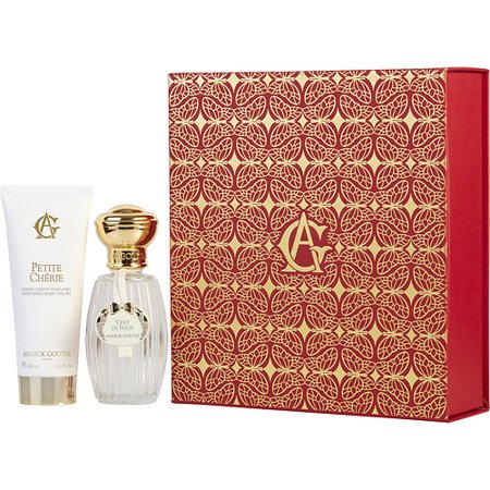 ANNICK GOUTAL VENT DE FOLIE by Annick Goutal - EDT SPRAY 3.4 OZ (NEW PACKAGING) & PETITE CHERIE BODY CREAM 3.4 OZ - (Annick Goutal Womens Body Cream)