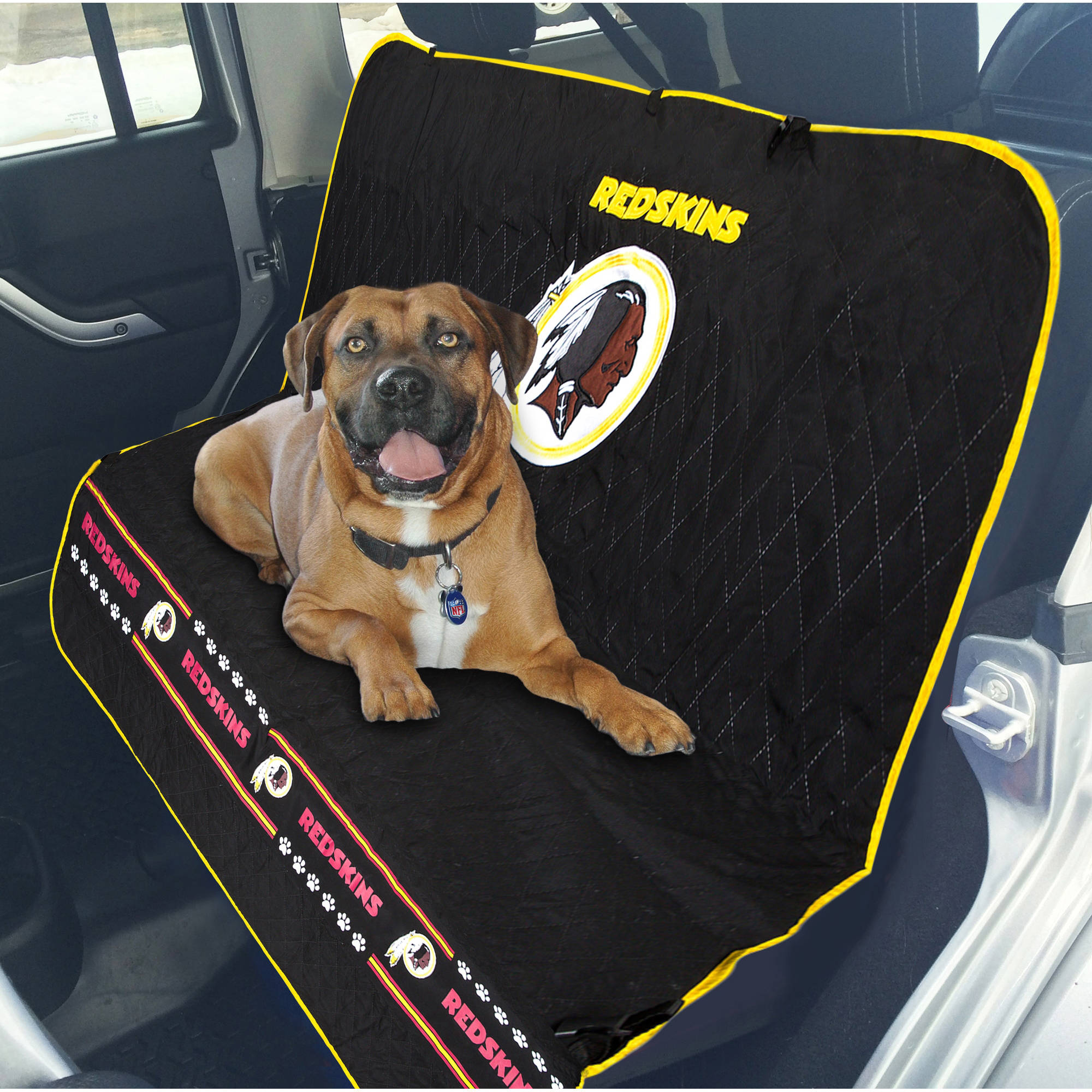 Pets First NFL Washington Redskins Car Seat Cover