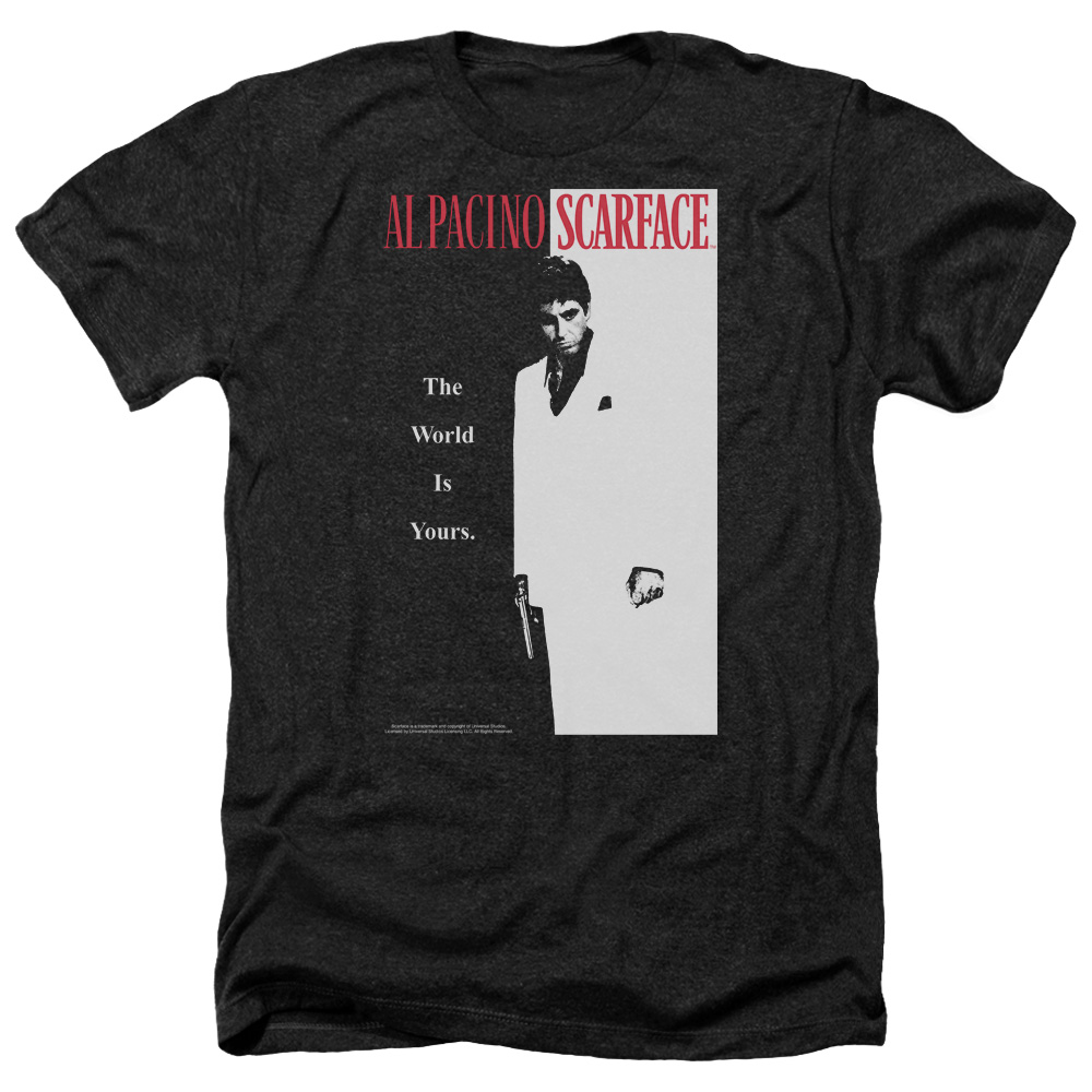 Scarface Classic Mens Heather Shirt