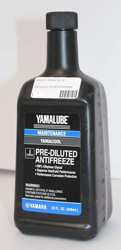 Yamaha ACC-YAMAC-L5-W5 ACC-YAMAC-L5-W5 Yamalube Yamacool 60/40 Bl 32 Oz