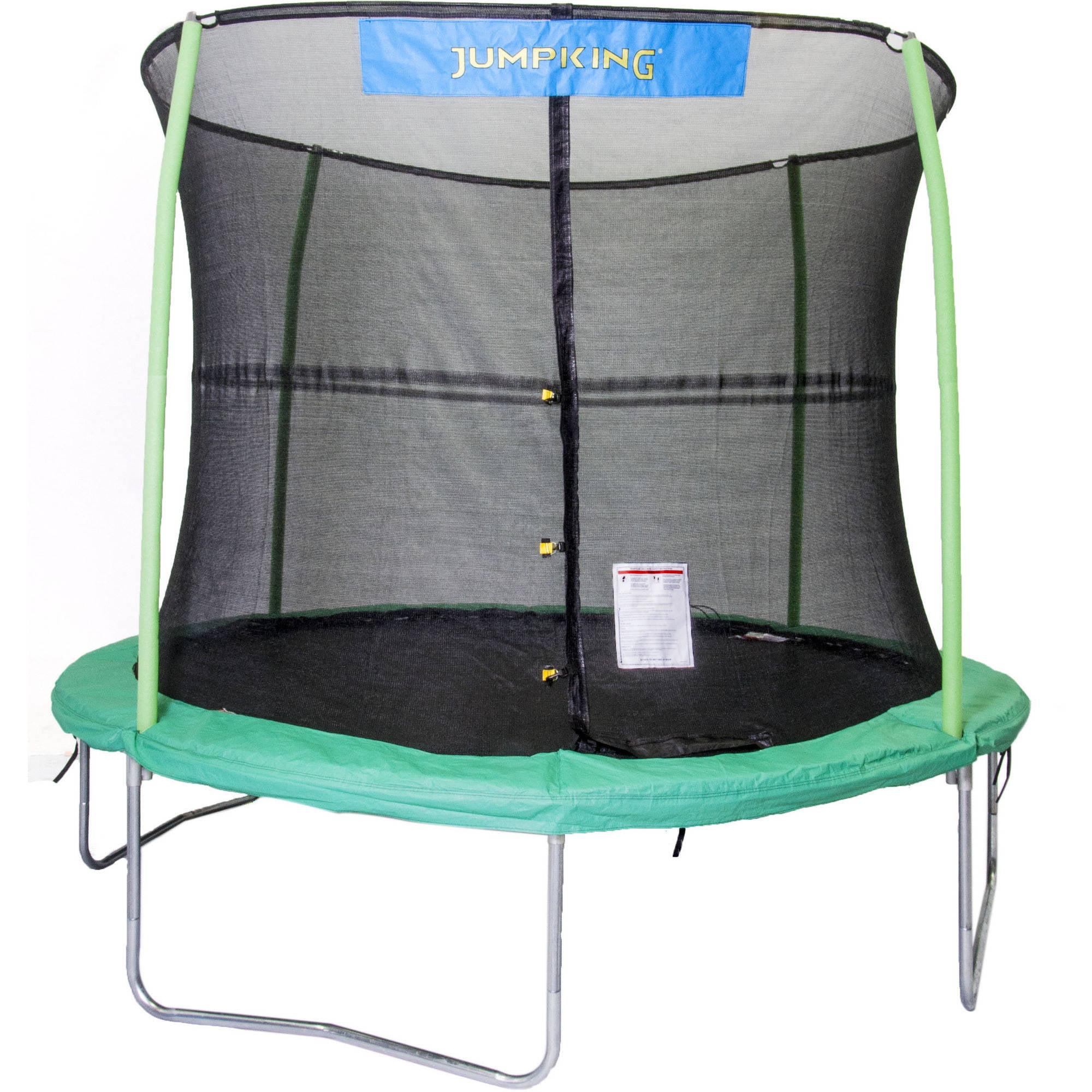 Jumpking 10 Trampoline And Enclosure