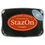 StazOn Solvent Ink Pad-Pumpkin