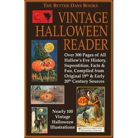 The Better Days Books Vintage Halloween Reader - eBook - Vintage Halloween Flashcards