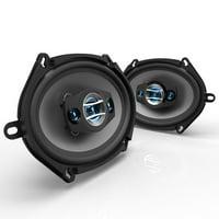 "Scosche HD57684SD - 5x7/6x8"" 4-Way Car Speakers (Pair)"