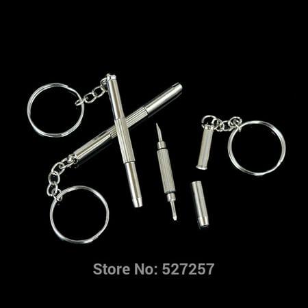 Practical 3-in-1 Eyeglass Sunglass Spectacle Frame Metal Repair Kit Screwdriver (Sunglass Repair Kit)