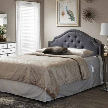 Baxton Studio Cora Modern and Contemporary Upholstered Headboard ...