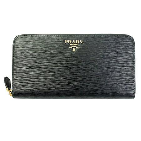 565e3fac66e7 Prada - Prada Womens 1ML506 Vitello Move Leather Wallet Nero (Black) -  Walmart.com
