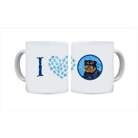 Brussels Griffon Dishwasher Safe Microwavable Ceramic Coffee Mug 15 ounce