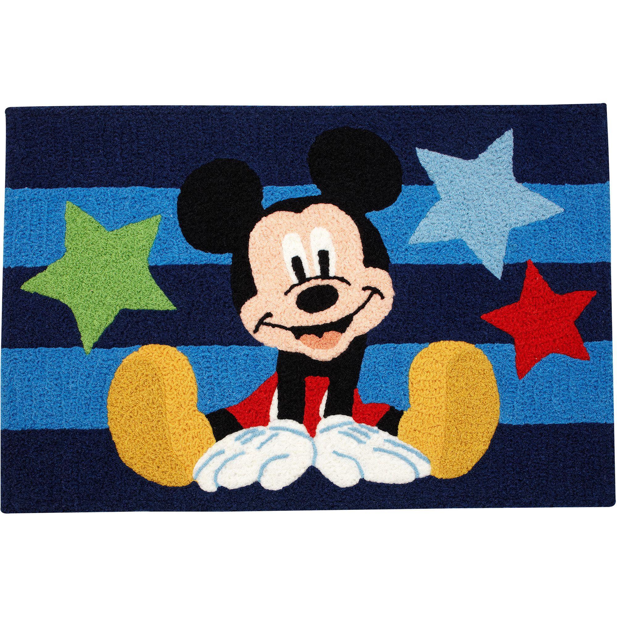 Disney Mickey Mouse Rug Walmart Com